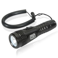 Seac Tauchlampe R3 - 400 Lumen bis 100 Meter wasserdicht