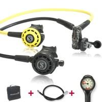 Scubapro G260 Black Tech Komfort Spartset - geprüft unf montiert