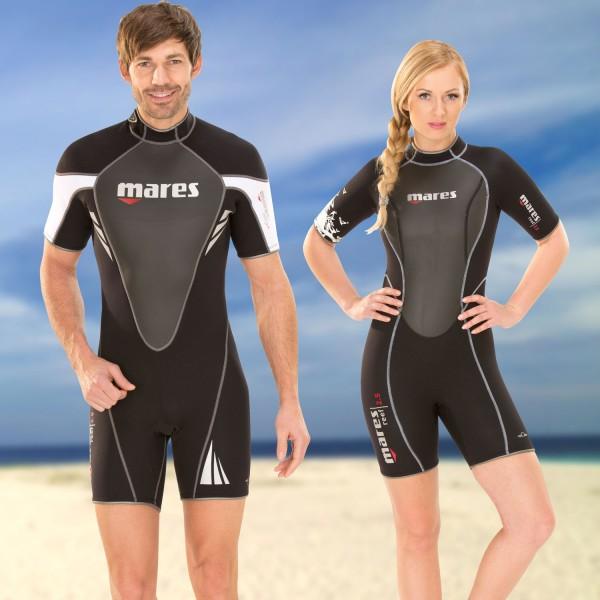 Mares Neopren Shorty Reef - für Taucher und Schnorchler