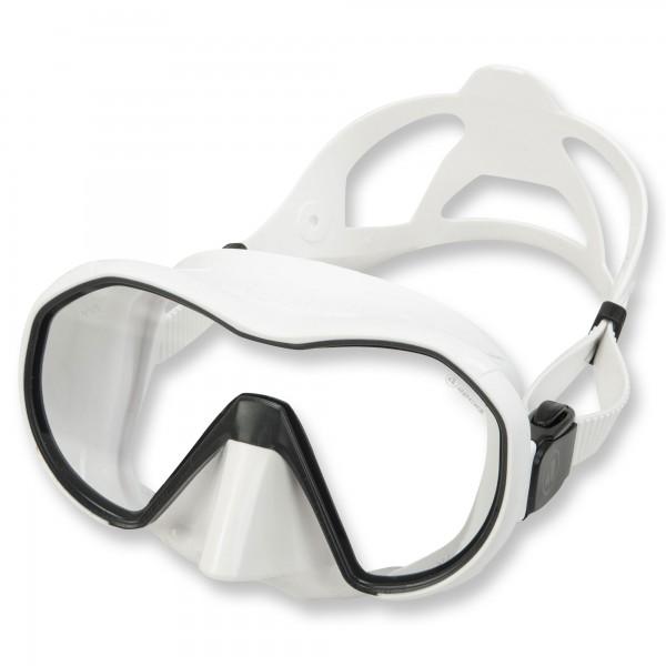 Apeks Tauchmaske VX1 weißes Silikon, klares Glas