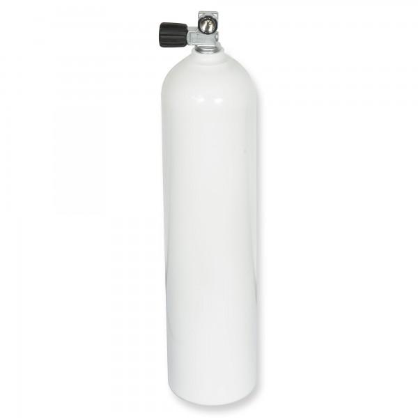 OMS - BTS Alu-Flasche Mono 7 Liter weiß