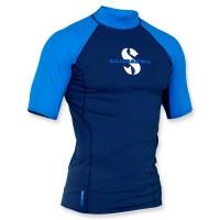 Scubapro T-Flex Lycra Shirt Herren - aegean kurzarm UPF 80