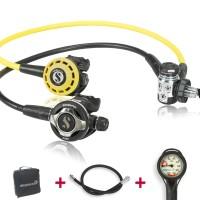 Scubapro MK 17 EVO S600 Komfort Sparset geprüft und montiert