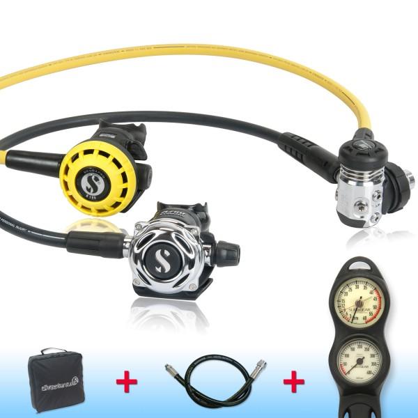 Scubapro MK 17 EVO A700 de luxe Sparset - geprüft und montiert