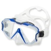 Mares Pure Wire Tauch- und Schnorchelmaske - grau-blau, klares Silikon
