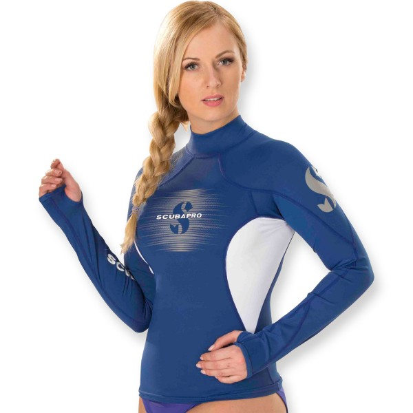 Scubapro T-Flex Lycra Shirt Damen - Langarm UPF 80