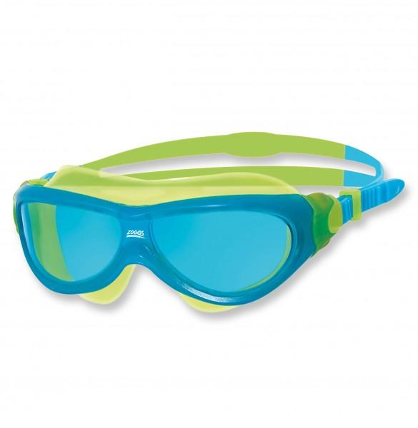 Zoggs Schwimmbrille Phantom jun. blue green tint - 6 bis 14 Jahre