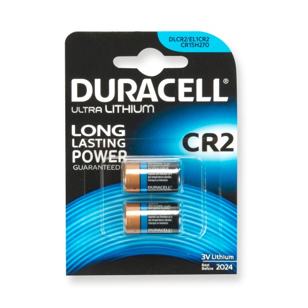 Duracell Lithium-Batterien CR2 - im Doppelpack