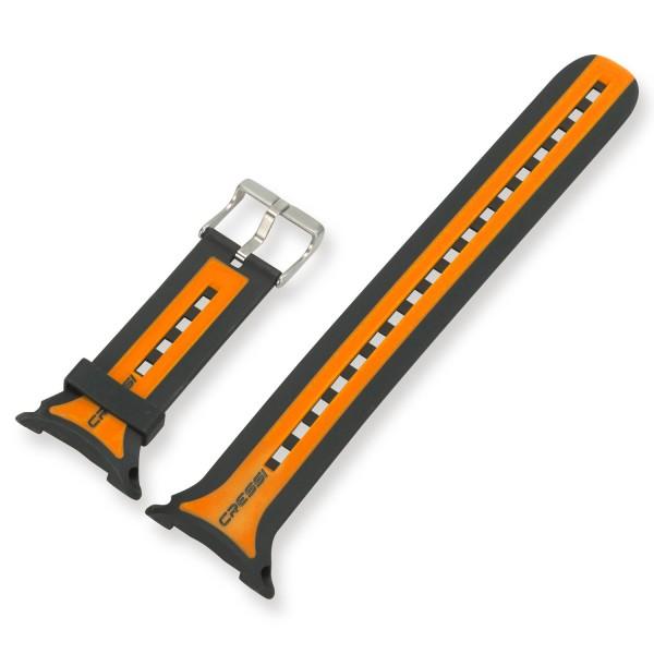 Armband für Cressi Leonardo Tauchcomputer - orange