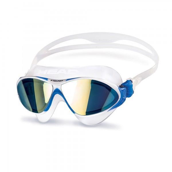 Head Horizon Mirrored Schwimmbrille - weiß blau