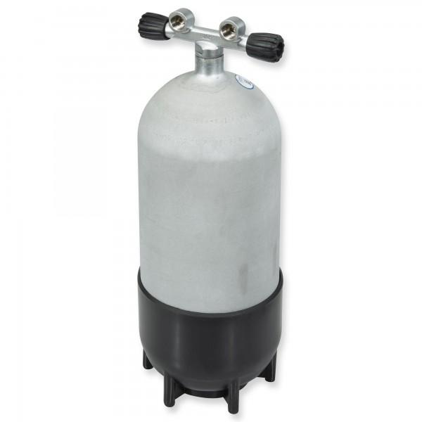 Polaris Steel Beast - Hot Dipped - 12 Liter Stahlflasche kurz mit Doppelventil