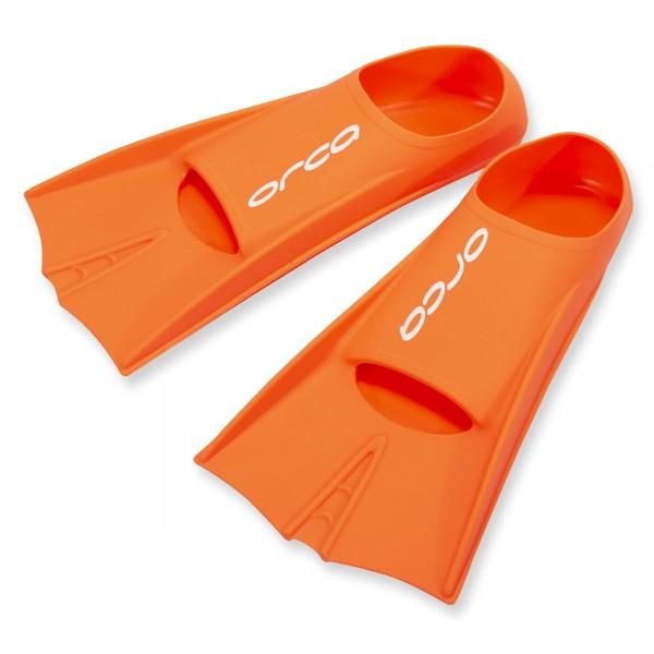 ORCA Trainigsflosse für Schwimmer - orange