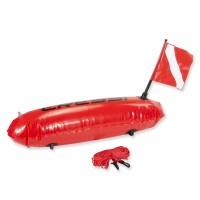 Cressi Torpedo Sicherheits-Boje mit Seil - für Taucher und Schnorchler