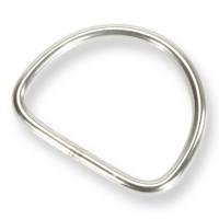 Edelstahl D-Ring 50mm