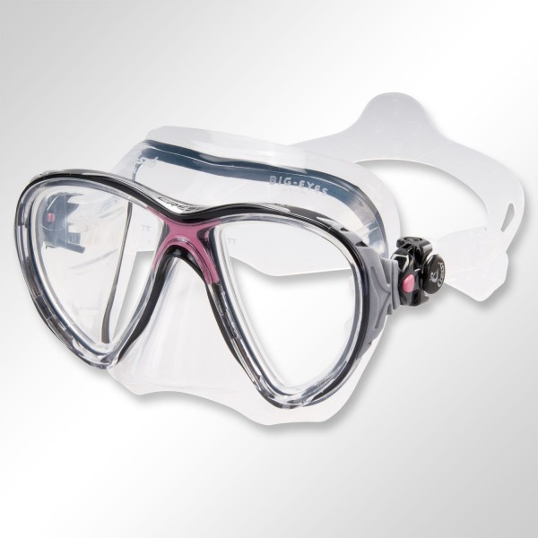Maske Cressi Big Eyes EVO - tolle Passform
