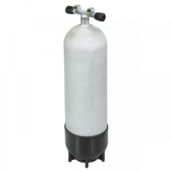 Polaris Steel Beast - Hot Dipped - 18 Liter Stahlflasche mit Doppelventil - 232 bar Version