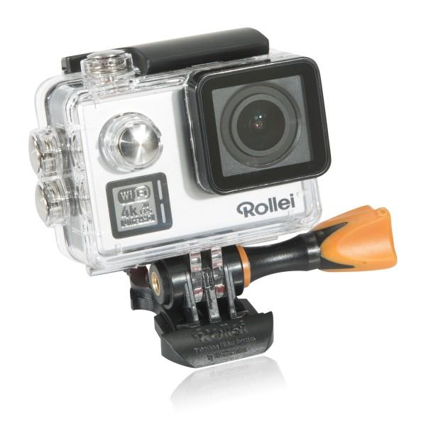 Rollei Action Cam 530 silber mit 4K Video Auflösung
