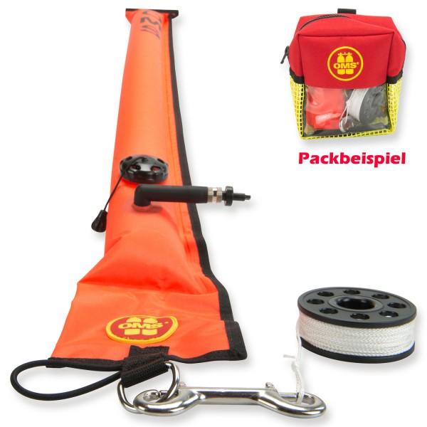 OMS Safety I Sparset mit Boje, Tasche und 15 m Mini Reel