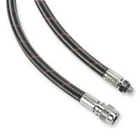 Miflex Inflatorschlauch - carbon rot gestreift  - 56 bis 90 cm