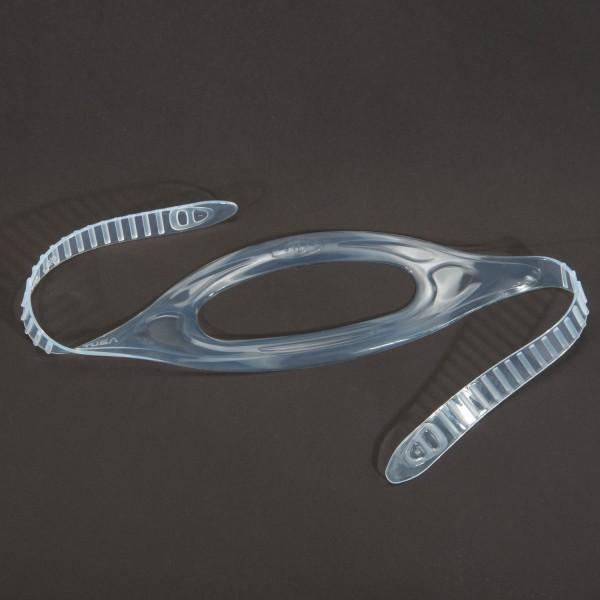 Tusa Maskenband aus transparentem Silikon