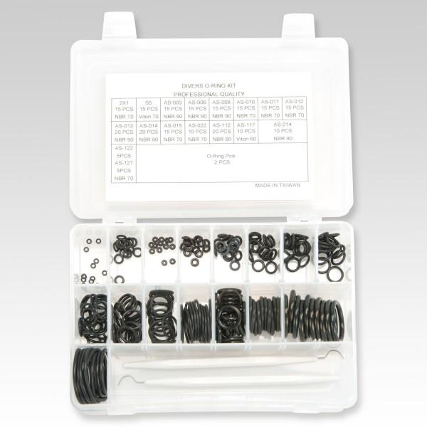 Praktisches O-Ring-Set von OMS - mit 2 Werkzeugen