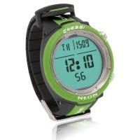 Cressi Tauchcomputer Neon - im Uhrenformat, grün