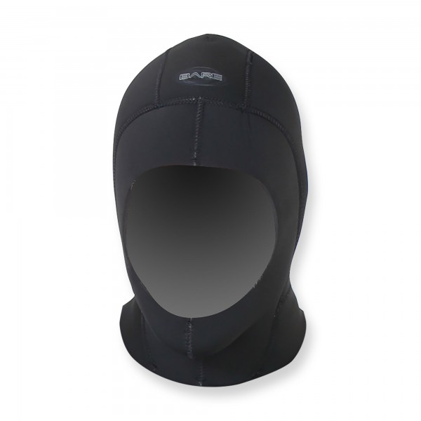Bare Kopfhaube Elastek Dry - 7mm Neopren schwarz