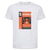 Scubapro Retro Shirt 1963 Herren - kurzarm weiß, rundhals
