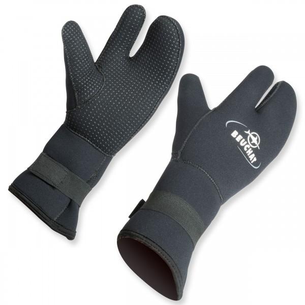 Beuchat 3 Finger Handschuh aus 7 mm Neopren - super warm