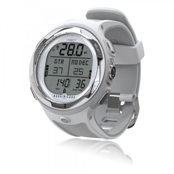 Aqualung Tauchcomputer i450T – Uhrenformat, sehr kompakt - weiß
