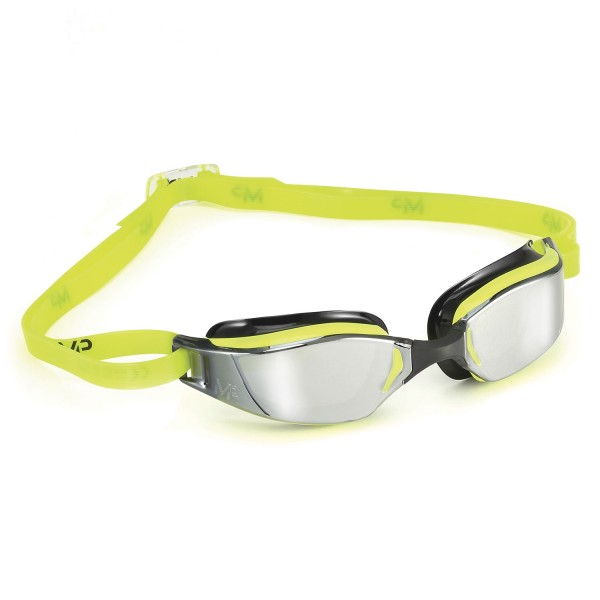 MP Xceed Mirror yellow Black Schwimmbrille - verspiegelte Scheibe