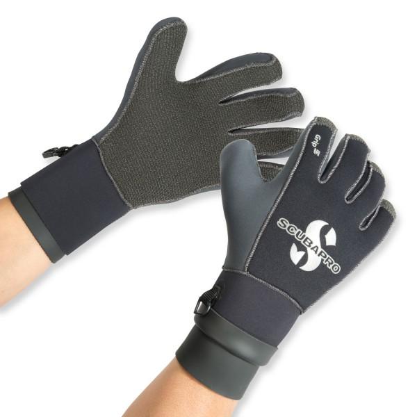 Warmer und stabiler Handschuh Grip 5 von Scubapro
