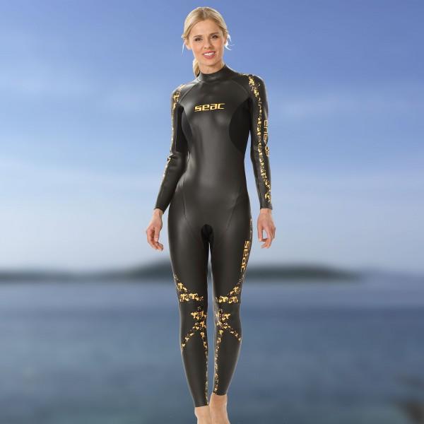 Seac Energy - Schwimm und Freitauchanzug aus 2mm Neopren, Lady