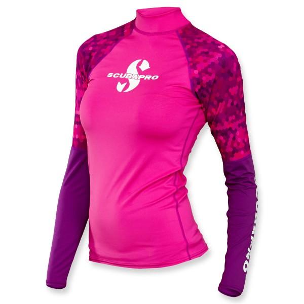 Scubapro Rash Guard Flamingo - Damen langarm UPF 50