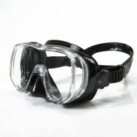 TUSA Maske Tri-Quest mit schwarzem Silikon M3001
