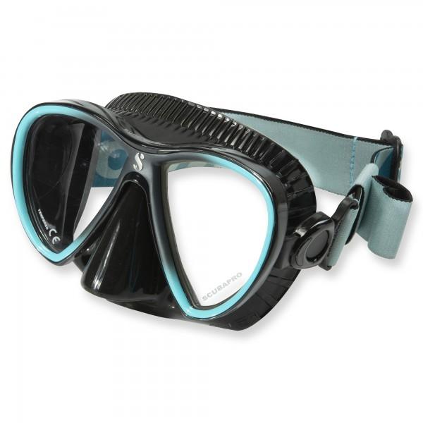 Synergy Twin Trufit türkis - weicher Maskenkörper mit Comfort Strap von Scubapro