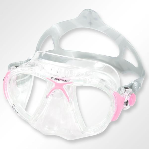 Nano Crystal - Maske mit sehr kleinem Volumen von Cressi