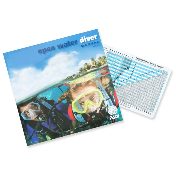 Padi Open-Water-Diver-Manual mit RDP (D)