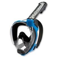 Cressi Vollgesichtsmaske Baron mit Trockenschnorchel black blue