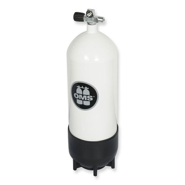 OMS - BTS Mono Stahlflasche 15 Liter - Ventil ausbaufähig