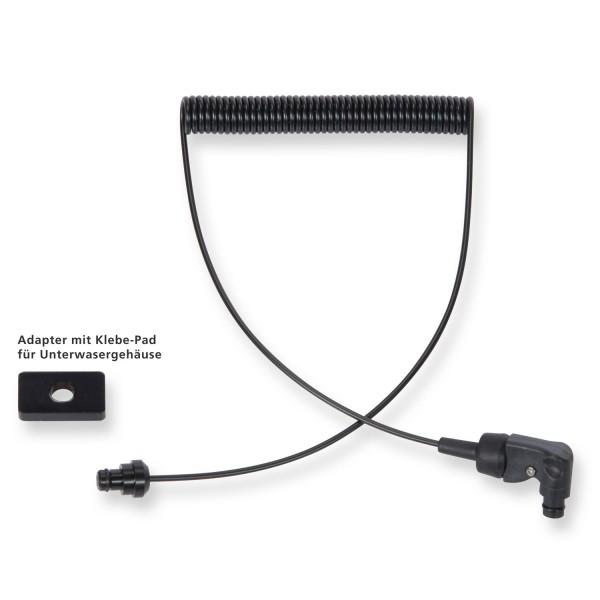 Blitzkabel mit Sea & Sea Anschluß und Adapter