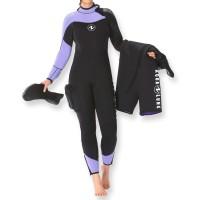 Aqualung Sparset Dynaflex 7 Damen - Overall mit Eisweste