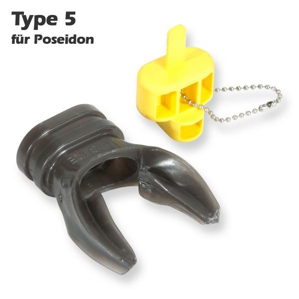 Seacure Mundstück X-Typ 5 für Poseidon - in warmen Wasser formbar