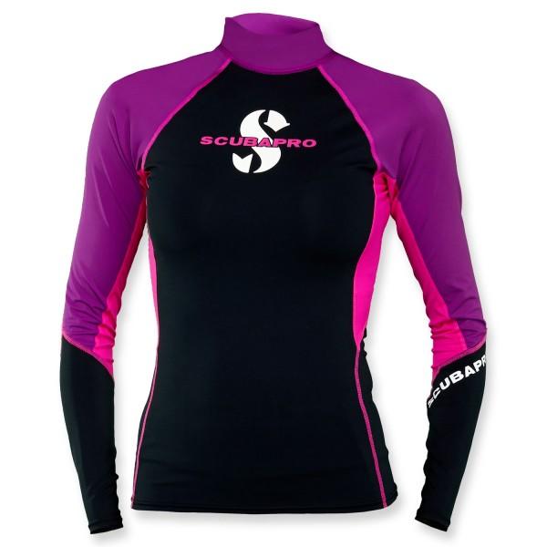 Scubapro T-Flex Lycra Shirt Damen - Jewel langarm UPF 80