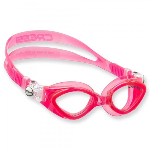 Cressi King Crab Schwimmbrille für Kinder - 7 bis 15 Jahre, pink