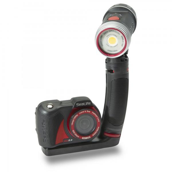 Sealife Micro 2.0 Pro 2000 Sparset - mit Seadragon 2000F Lampe