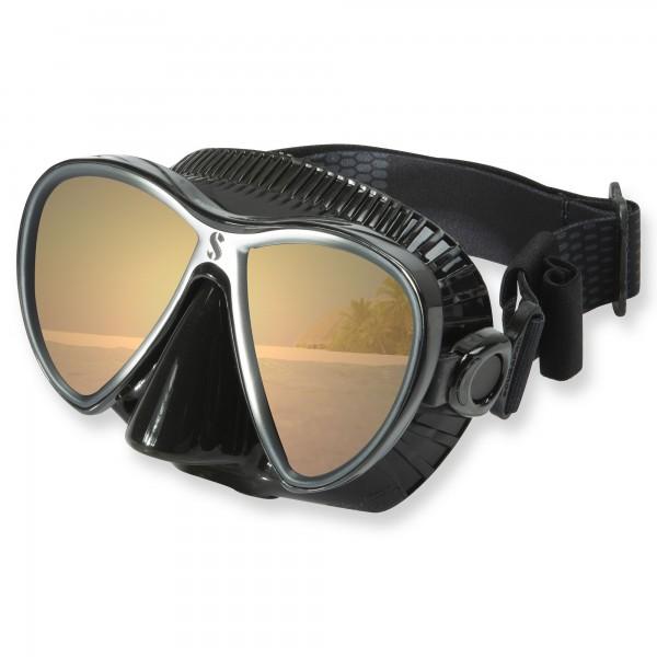 Synergy Twin Trufit Mirror - weicher Maskenkörper mit Comfort Strap von Scubapro
