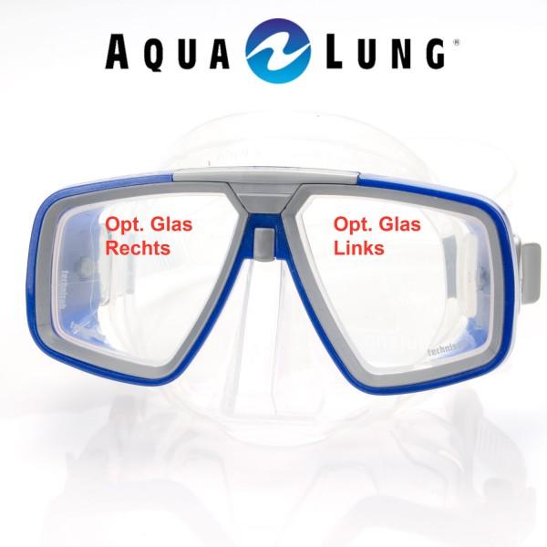 Optisches Glas für Maske Look - links