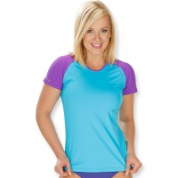Camaro Rash Guard Ultradry - Damen kurz UPF 50 plus