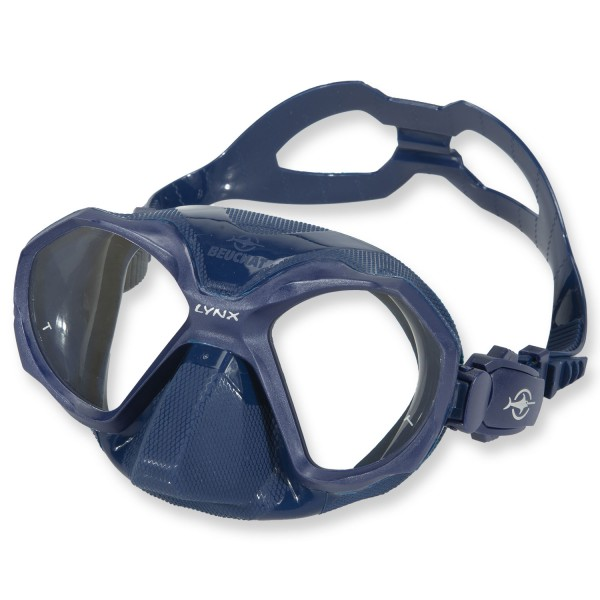 Beuchat Lynx Freitauchmaske - aus blauem Silikon